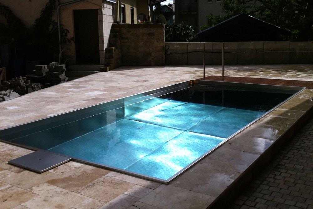 die firma ortner schwimmbadbau ist ihr perfekter partner fur ihren exklusiven edelstahlpool wir ubernehmen fur sie die komplette planung und ausfuhrung
